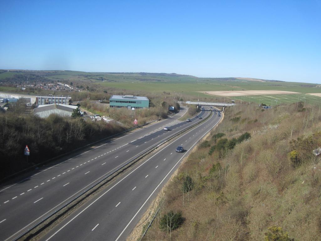 A27 at Hollingbury